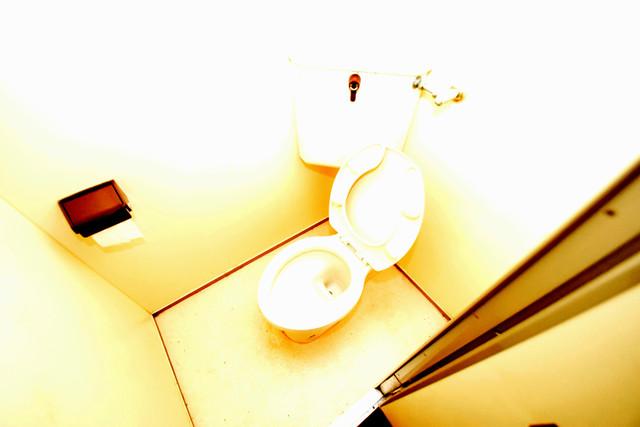 湊川マンション スタンダードなトイレは清潔感があって、リラックス出来ます。