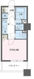 ドゥーエ横浜駅前5階Fの間取り画像