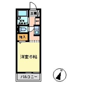 豊田駅 徒歩9分1階Fの間取り画像