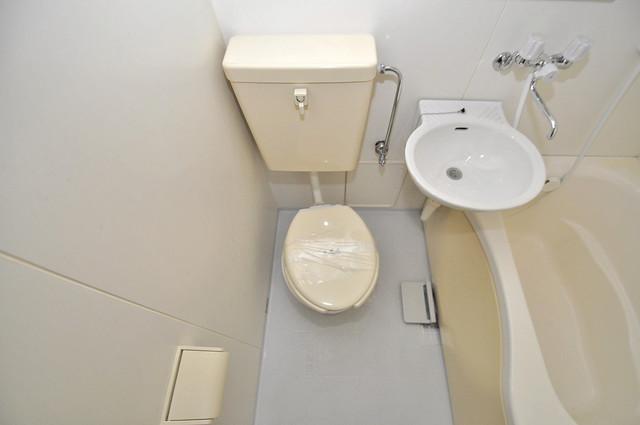 ライフステージ今里 シャワー1本で水回りが簡単に掃除できますね。
