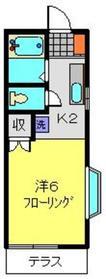 パレ菊名1階Fの間取り画像