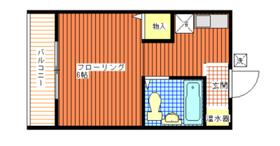 NFハイツ2階Fの間取り画像