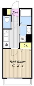 古淵駅 徒歩29分1階Fの間取り画像
