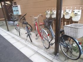 敷地内自転車置き場あります。