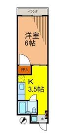 フェリーチェ・トレ3階Fの間取り画像