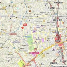 ザ・パークハウス西新宿タワー60案内図