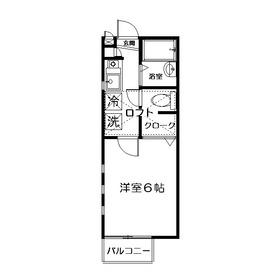 セレーノ西荻2階Fの間取り画像