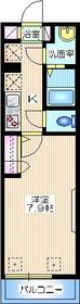 メゾン ガーネット2階Fの間取り画像
