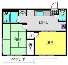 ピアフラット1階Fの間取り画像