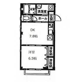 ヴィカーサK3階Fの間取り画像