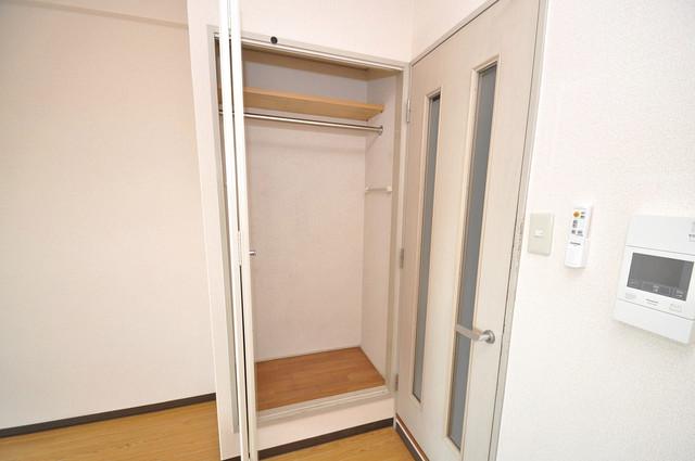 デ・リード高井田駅前 もちろん収納スペースも確保。お部屋がスッキリ片付きますね。