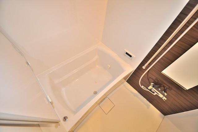 グランマーレ小路駅前 足が伸ばせる広い浴槽はナイスですね!