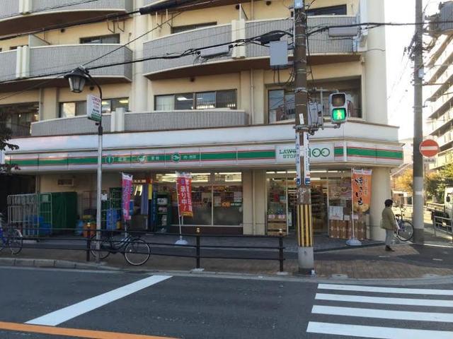 ローソンストア100西淀川大和田店