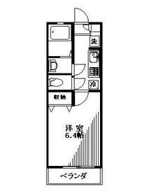 リリックコート長島1階Fの間取り画像