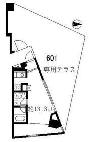 STEPS6階Fの間取り画像