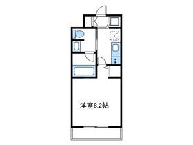 エヌエスマンション31階Fの間取り画像