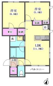 千鳥3丁目シャーメゾン 102号室