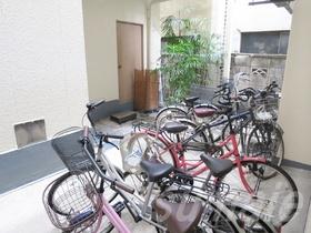 自転車置き場です☆