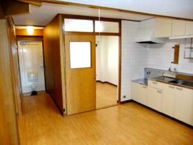 DKと洋室と玄関