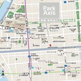 パークアクシス両国馬車通り案内図