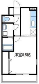 ロワジール4階Fの間取り画像