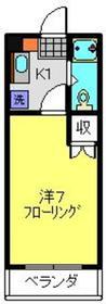 綱島駅 徒歩7分3階Fの間取り画像