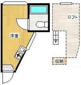 ハイムコマイ2階Fの間取り画像