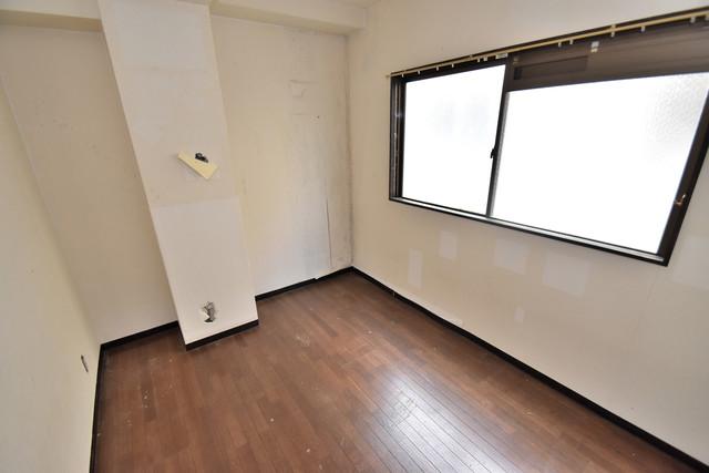 湊川マンション 朝には心地よい光が差し込む、このお部屋でお休みください。