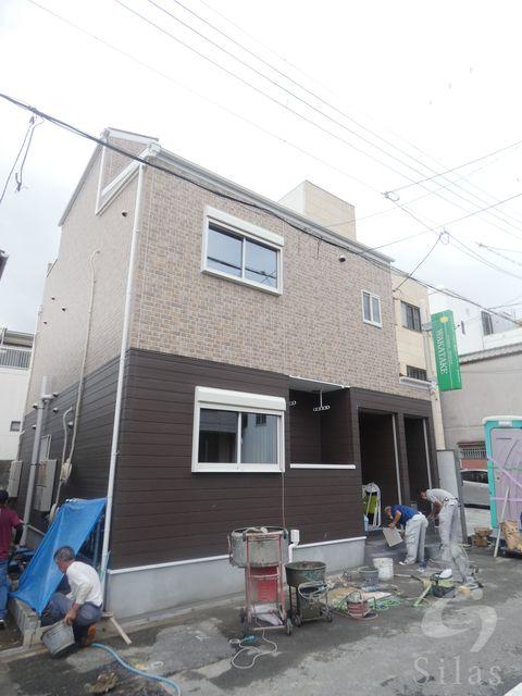 大阪市生野区林寺4丁目の賃貸アパートの外観