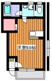 メトロ成増1階Fの間取り画像