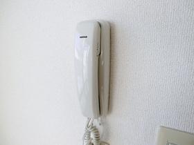 インターホンがあります。