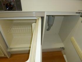 ミニ冷蔵庫付いてます!!