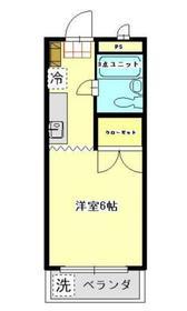 鶴川駅 バス13分「街道口」徒歩1分2階Fの間取り画像