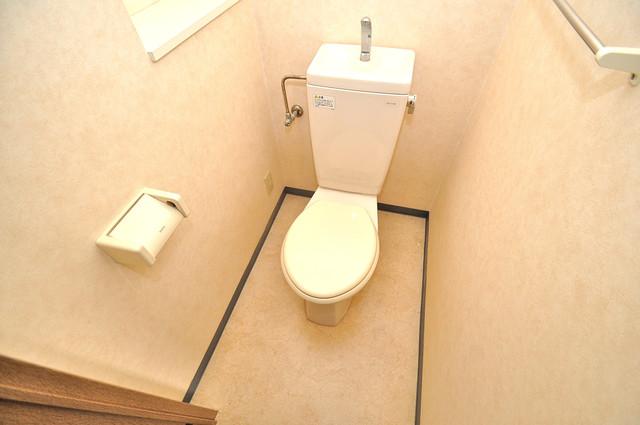 ウィダーホール23 清潔感のある爽やかなトイレ。誰もがリラックスできる空間です。