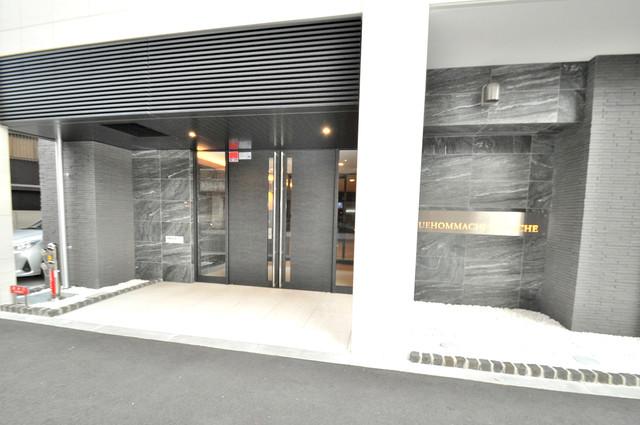 エスリード大阪上本町ブランシュ 高級感がある広いエントランスがあなたを出迎えてくれます。
