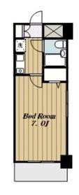 ライオンズマンション海老名第34階Fの間取り画像