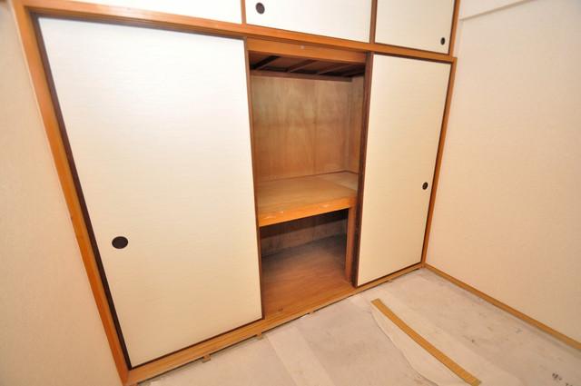 メゾンタツミ もちろん収納スペースも確保。お部屋がスッキリ片付きますね。