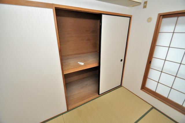 サンライフ若江東 もちろん収納スペースも確保。おかげでお部屋の中がスッキリ。