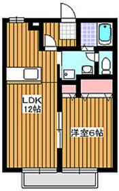 和光市駅 徒歩15分2階Fの間取り画像