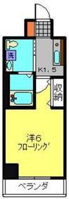 横山パークテラス下末吉Ⅰ4階Fの間取り画像