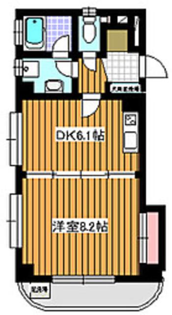 地下鉄成増駅 徒歩9分間取図