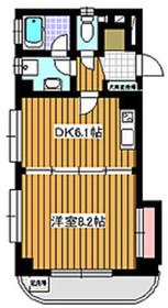 地下鉄成増駅 徒歩9分1階Fの間取り画像