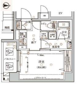 ベルシード横濱大口通3階Fの間取り画像