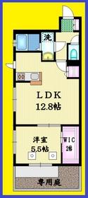 井荻駅 徒歩19分1階Fの間取り画像