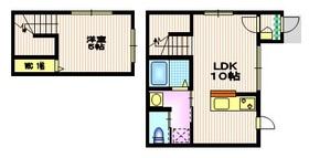 ドミトリーノ駒沢S2階Fの間取り画像