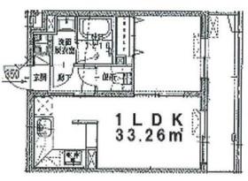 エルスタンザ白楽2階Fの間取り画像