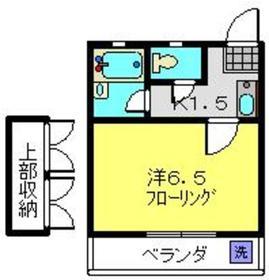 ビューハイム鈴木1階Fの間取り画像