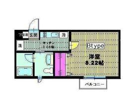 ベイヒルズ横濱3階Fの間取り画像