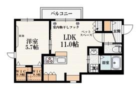 新大塚駅 徒歩9分2階Fの間取り画像