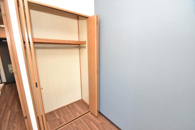 サンピリア小阪 もちろん収納スペースも確保。いたれりつくせりのお部屋です。